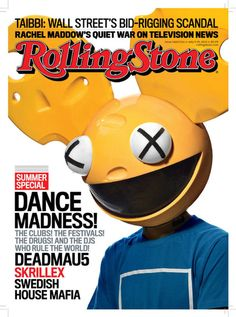 Deadmau5 on cover of Rolling Stone #music