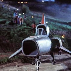 Apollo's Colonial Viper on Caprica - Battlestar Galactica S01E02 (Episode 1): Saga of a Star World, Part 2 (First Aired September 17, 1978)