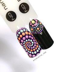 Дизайн Paint Point!  Который и правда напоминает конфети!  #nails #nailart #ногти #nanoprofessional