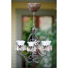 Find it at the Foundary - Anywhere Light Hannah Series Outdoor Chandelier