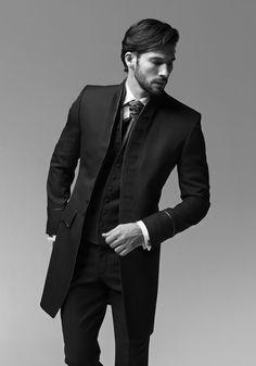 Costume à veste longue pour les hommes