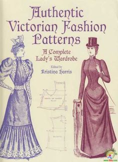 Authentic Victorian Patterns book