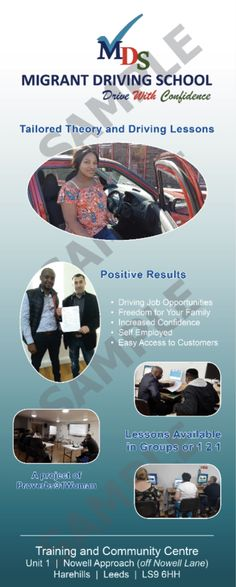 Driving Jobs, Driving School, Increase Confidence, Your Family, Banners, Positivity, The Unit, Train, Banner