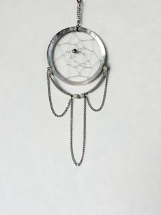 Elegant Dream Catcher  Jewelry - Handmade Mini Goddess Mother Pearl Necklace Dreamcatcher by DreamRaes on Etsy https://www.etsy.com/listing/210332534/elegant-dream-catcher-jewelry-handmade