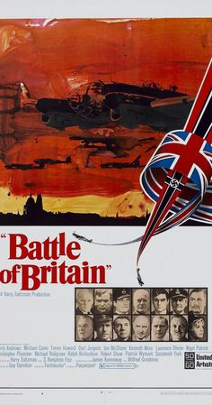 Battle of Britain Old Film Posters, Best Movie Posters, Classic Movie Posters, Cinema Posters, Classic Films, Old Movies, Vintage Movies, Great Movies, Battle Of Britain Movie