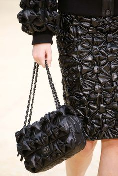 Details at Chanel Fall 15/16 Ready-to-wear by Karl Lagerfeld, Paris Fashion Week.