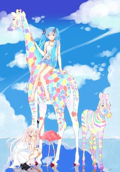 Hatsune Miku and IA - Vocaloid