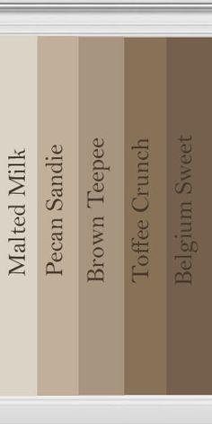 Paint Sample. Really Like The Pecan Sandie For Main Bathroom Good Ideas