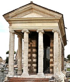 The Roman Temple of Portunus, Rome, Italy, 1st century B.C.E. The year 221 B.C.E. was a turning point both for Rome and for Roman art....