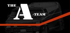 The a team logo - Google zoeken A Team Van, George Peppard, Children Images, Custom Vans, The A Team, Prison, Team Logo, Favorite Tv Shows, Crime