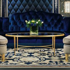 Style and glamour that is boundless, the High End Modern Glamour Oval Coffee Table offers it all.