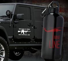 WIN THIS WATER BOTTLE AND DECAL!!!!