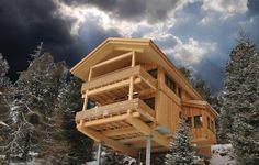 Vakantiehuis - Turracher Höhe, Oostenrijk | In deze luxe chalets zult u zich zeker snel op uw gemak voelen! De woning beschikt over vijf slaapkamers en twee badkamers. Meer info: http://www.novasol.nl/p/AST002