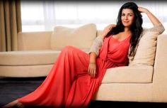 Hot Nimrat Kaur in Red suit