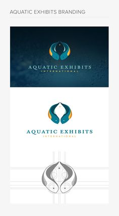 Aquatic Exhibits International Branding on Behance