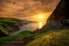St Abbs Head in the borders of Scotland, land of our Saxton clan