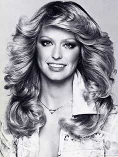 Feathered 70's Disco Hairstyles ❥❥❥ http://bestpickr.com/1970s-hairstyles