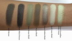 The Fancy Face: REVIEW + SWATCHES | Make Up For Ever Artist Shadows