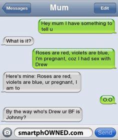 Mum Txt Fails