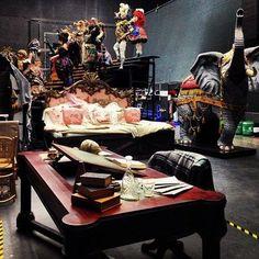 Phantom of the Opera backstage!