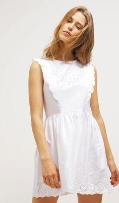 Vestito estivo bianco 10