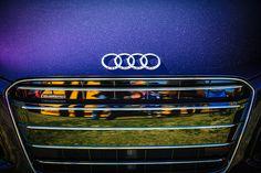 Audi Grille Emblem - Car Images by Jill Reger