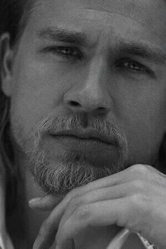 Charlie Hunnam - Sons of Anarchy - This has been repinned more than anything else!