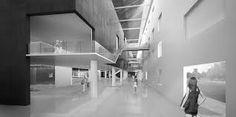 Arquitectura de Sala de Exposiciones.