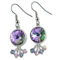 E874 - Violet Sparkle Earring Project - Only at... JewelrySupply.com