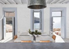 Architect George Zafiriou combines environmentally conscious design with the rustic Cycladic tradition, in the COCO-MAT Eco Residences Serifos.
