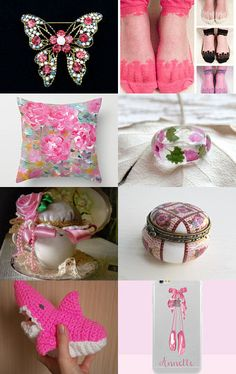 pink pink pink by Demi on Etsy--Pinned with TreasuryPin.com
