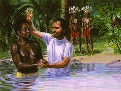 """Perjanjian yang Lebih Baik Baptisan: Tanda Yang Lebih Baik """"Dengan demikian kita telah dikuburkan bersama-sama dengan Dia oleh baptisan dalam kematian, supa"""