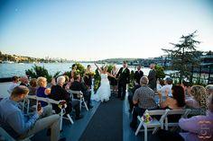 Skansonia Ferry Wedding | Jen and Sean