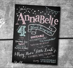 "FONT DISH: The Fonts used for our ""All About Me"" Printable Chalkboard Sign Design. Favorite Free Chalkboard Fonts by Itsy Belle"