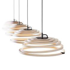 Secto Design ASPIRO - Suspension Bois Fil Noir