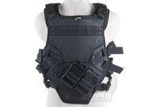 Buy Airsoft TMC-Combat Gear-Vests-TMC Cosplay Transformer 3 Tactical Vest (BK)