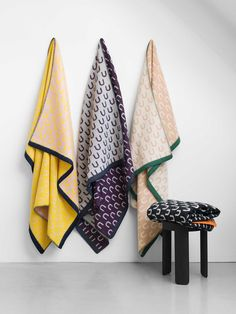 Arch Throws collection designed by Arthur Arbesser for Hem
