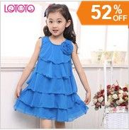http://www.aliexpress.com/store/621900   Retail free shipping hot fashion cool cotton girl casual Cake princess dress 6-14 years kids in stock jumpsuit