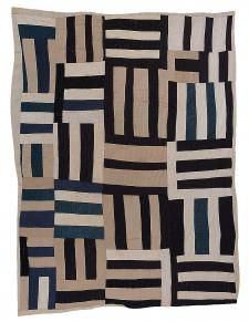 Strip Quilts, Easy Quilts, Gees Bend Quilts, Deep Foundation, Art Articles, American Quilt, Quilt Border, Textiles, Pattern And Decoration