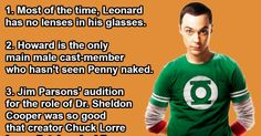 20 Rarely Known Facts About The Big Bang Theory.