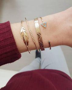 Kelvin~Danny~Cléo~Corey  Retrouvez ces bracelets en Plaqué Or sur www.asoabijoux.com ☺