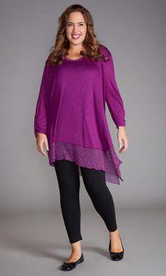 VENETIA TUNIC WITH TANK / MiB Plus Size Fashion for Women / Fall Fashion