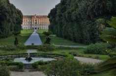 Royal Palace of Caserta, Caserta, southern Italy; and it really looks like this, I've been there!