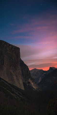 Photography - Mountain with sunset - Hintergrund 2019 Handy Wallpaper, Wallpaper Space, Galaxy Wallpaper, Nature Wallpaper, Screen Wallpaper, Iphone Wallpaper, Aesthetic Backgrounds, Aesthetic Wallpapers, Sunset Photography