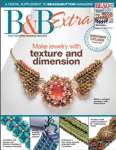 August 2013 B&B Extra | BeadandButton.com