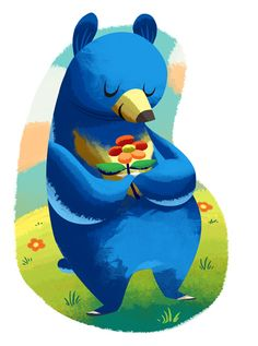 Happiness Bear by *MelDraws on deviantART