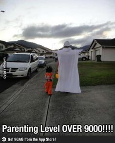 Parenting Level: OVER 9000!