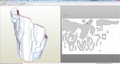 Halo 4 Master Chief foam build *WIP* (with templates)