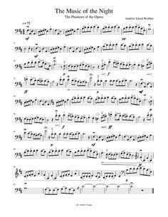 Trombone Sheet Music, Cello Music, Music Songs, Cello Lessons, Music Of The Night, Free Sheet Music, Song Artists, Pdf, Guitar