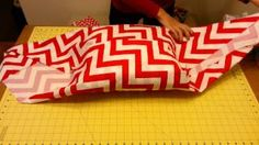 no sew pillow cover genius - YouTube